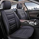 xiaofeng Coches Cojín Negro Impermeable Car Seat Covers Set Completo - Universal for 5 Asientos SUV Sedan Truck Bien Ajuste for BMW F10 F11 F15 F16 F20 F25 F30 F34 E60 E70 E90 de enero de 3 4 5 7