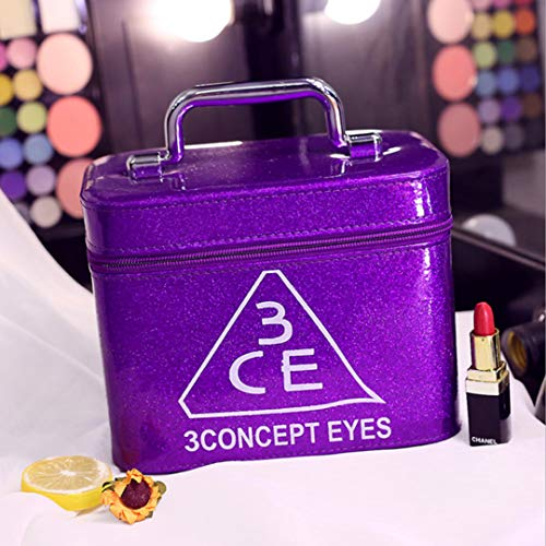 puissant Miroir de maquillage GOVD, organisateur de maquillage, nombreuses couleurs et styles d'espace de rangement …