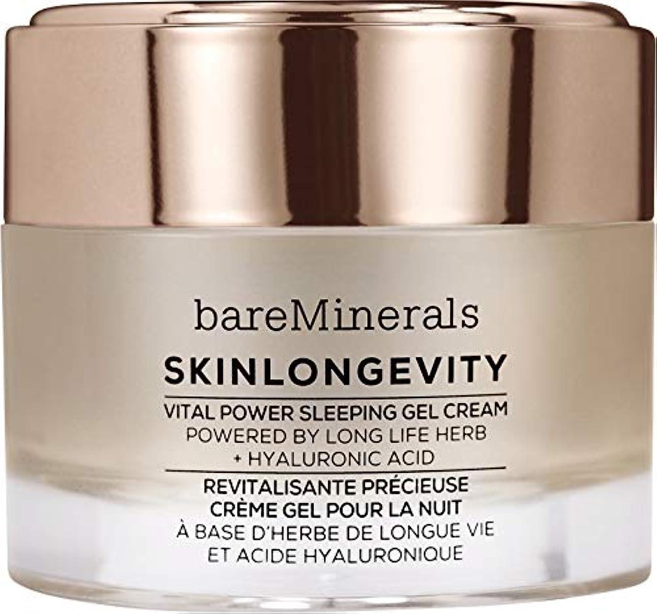 クラブ一晩騒ぎベアミネラル Skinlongevity Vital Power Sleeping Gel Cream 50g/1.7oz並行輸入品