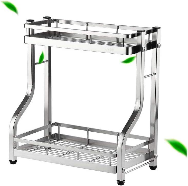 2-Tier Direct store Standing Spice Rack Kitchen Countertop Bathroom Storage O Import