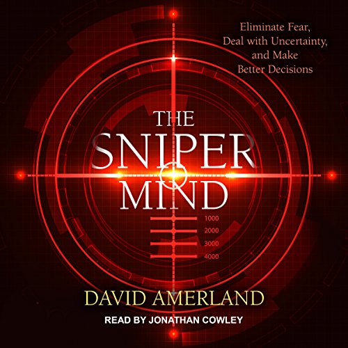 The Sniper Mind audiobook cover art