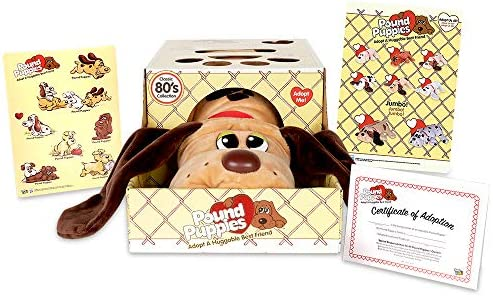Basic Fun Pound Puppies Classic Stuffed Animal Plush Toy Great Gift for Girls Boys 17 Light product image