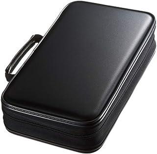 Lwieui Caja de Almacenamiento de CD DVD portátil de Almacenamiento de CD Box Mano Llevar a la Caja 96 Capacidad Compacto E...