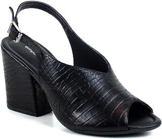 Sandalia Croco Preto