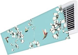 Deflector de viento de aire acondicionado Central para el hogar/Oficina, Ajusta libremente el ángulo del Parabrisas para Cambiar la dirección del Viento (Color : Style 2, Size : 110cm)