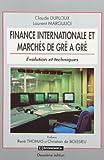 Finance internationale et marchés de gré à gré