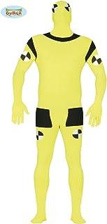 Guirca Crash Test Dummy Kostüm für Herren, Größe:L
