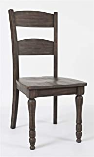 Jofran Madison County Ladderback Dining Chair - Set of 2 Qty 2/Barnwood