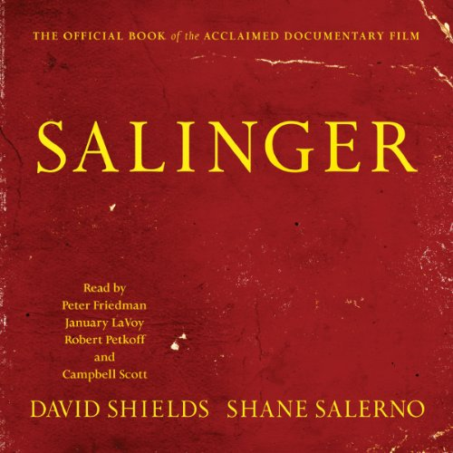 Salinger audiobook cover art