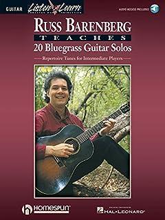 Russ Barenberg Teaches 20 Bluegrass Guitar Solos: Repertoire Tunes for Intermediate Players