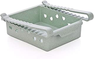 Alician Creative Shelves Food Storage Box for Kitchen Refrigerator Living Room Drawer Type Kitchenware Green