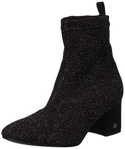Trussardi Jeans Damen Ankle Boot Inside Zip Kurzschaft Stiefel, Schwarz (Nero K299), 35 EU
