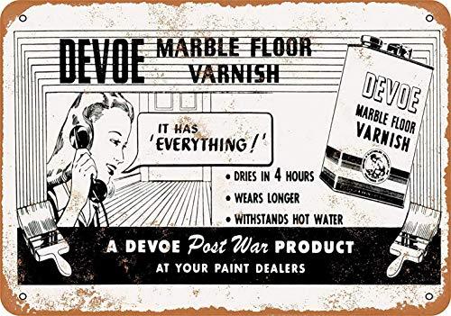 niet Marmeren Vloer Vernis Metalen tin teken schilderij decoratie Populaire IJzeren Schilderij Poster Voor bar cafe eetkamer huis club