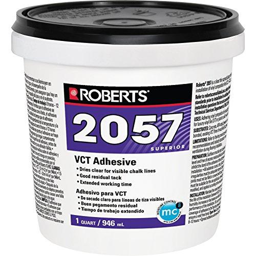 Roberts 2057-0 Adheres Vinyl-Composition & Vinyl-Asphalt Structurally...