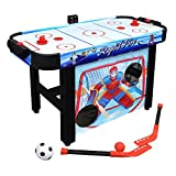 Hathaway Rapid Fire 42-in 3-in-1 Air Hockey Multi-Game Table...
