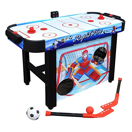 Hathaway Rapid Fire 42-in 3-in-1 Air Hockey Multi-Game...