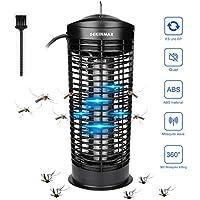 DEKINMAX Lámpara de Mosquito Eectrónica Antimosquitos 11W UV Lámpara contra Moscas, Polillas, Insectos para Hogar, Oficina, Restaurante
