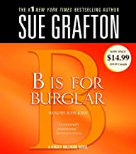 B Is for Burglar LARGE PRINT (A Kinsey Millhone Mystery)