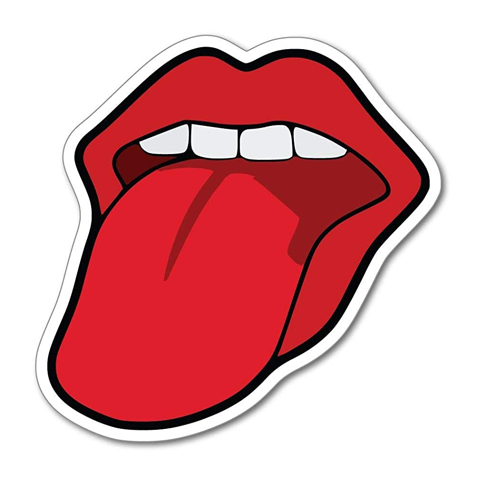 Lips Tongue Sexy Teeth Mouth Car Sticker Decal