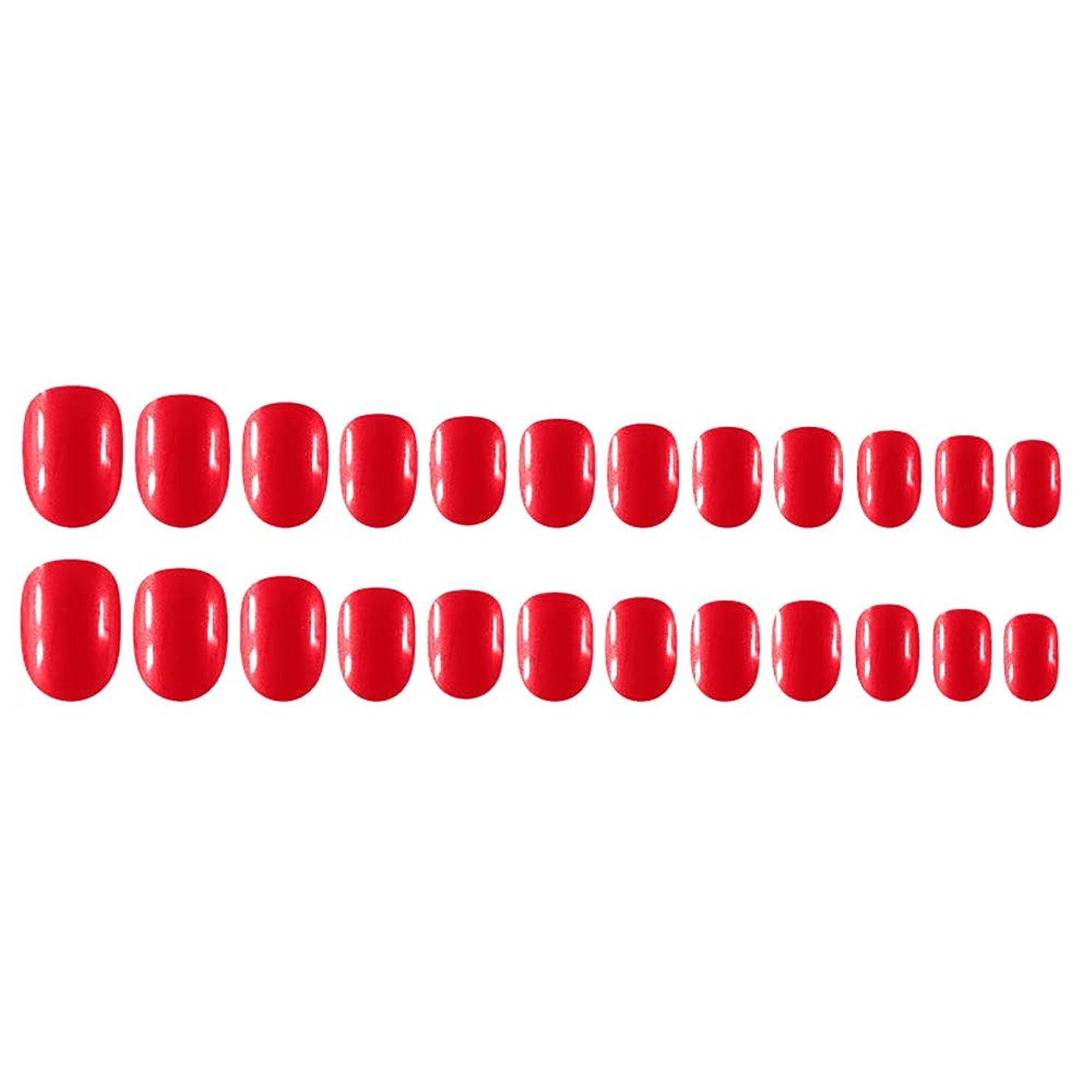 アライアンスインストラクター山岳Decdeal Decdeal ネイルチップ 24ピース 12異なるサイズ diy サロン ネイルアートツール 偽