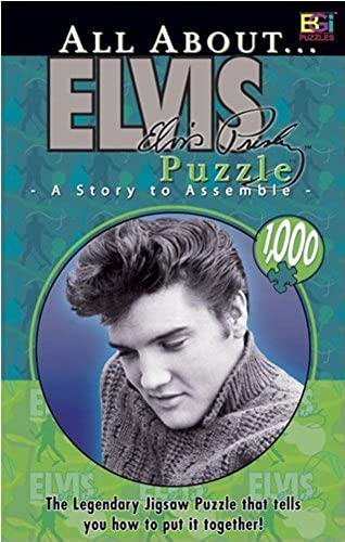 Buffalo Games All About Elvis 1000 Piece Jigsaw Puzzle by Buffalo Games