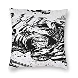 496 Onepi-Ece Smoker Pillowcase Mordern Decorative Square Throw Pillow Covers for Living Room Sofa Couch Bed Car 24'X24'