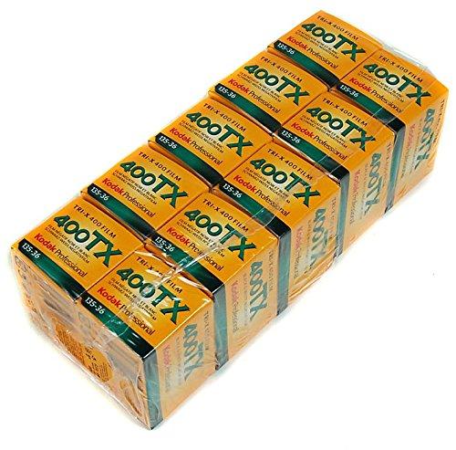 10 rollos Kodak de TX 135-36 Tri-X Pan, impresión en blanco y negro, ISO-400
