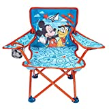 Mickey Mouse Kids Camp Chair Foldable Chair with Carry Bag