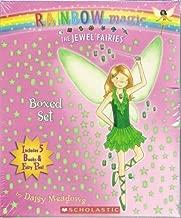 The Jewel Fairies Boxed Set, Books 1-5: India the Moonstone Fairy, Scarlett the Garnet Fairy, Emily the Emerald Fairy, Chole the Topaz Fairy, and Amy the Amethyst Fairy (Rainbow Magic) (FLYING FAIRY PEN INCLUDED!)