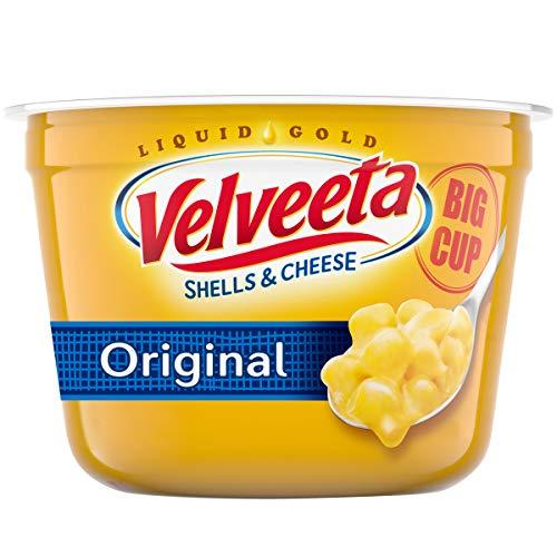 Velveeta Shells & Cheese Original Big Cup, 5 Ounce (Pack of 8)