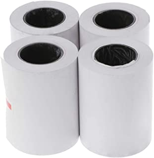 4 rollos de papel térmico de 57 x 50 mm para impresora térmica de 58 mm