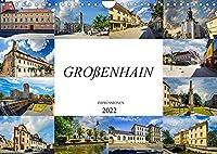 Grossenhain Impressionen (Wandkalender 2022 DIN A4 quer): Zu Besuch in der ehemaligen Garnisionsstadt Grossenhain (Monatskalender, 14 Seiten )