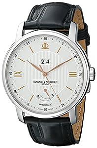 Baume & Mercier Men's A10142 Classima Analog Display Swiss Automatic Black Watch image