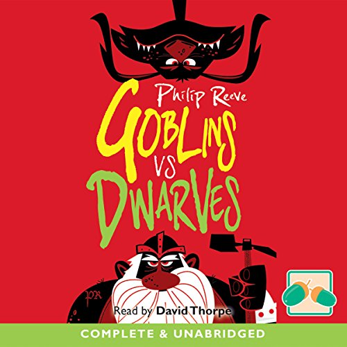 Goblins vs Dwarves audiobook cover art