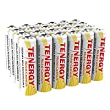 Tenergy AA Rechargeable NiCD Battery, 1.2V 1000mAh High Capacity AA...