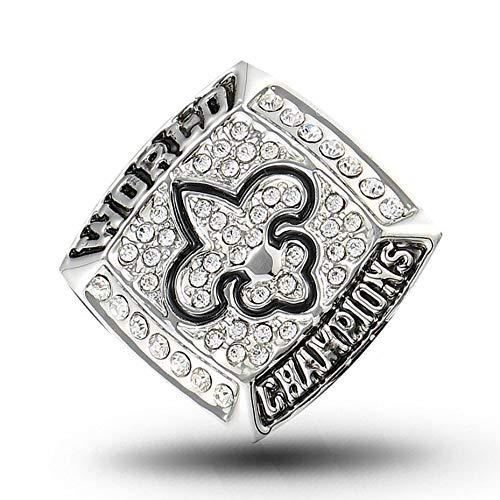 XINXING NFL Herren-Meisterschaft-Ring 2009 New Orleans Saints Super Bowl Iris-Champion Ring 12