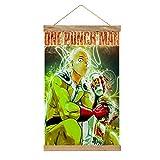 WPQL Lienzo de alta calidad para colgar un cuadro, One Punch Man-397, mural de lienzo moderno, mural de póster, fácil de instalar, 33.1 x 50.4 cm.