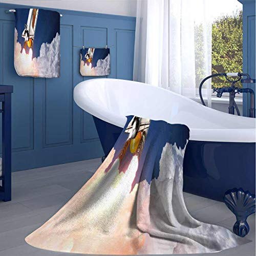 Zara Henry Rocket Lift Blast Kids Bath Towel for Best Friends Machine Washable washcloths