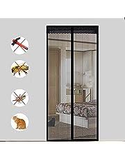 Magneet Klamboe Deur Insect Screen, 100 * 230cm Magnetic vliegengordijn Klamboe Automatisch afgesloten, Gebruikt for Living Room Door Patio Deur, geen Drilling