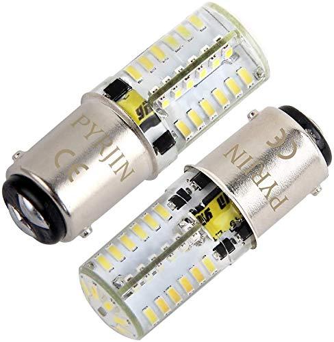 Ampoule Ba15d 1142 LED 12V 5W, Blanc Froid 6000K Double Contact Baïonnette SBC, Équivalent 35W, pour l'intérieur, RV Camping, bateau, feux de position. (lot de 2)