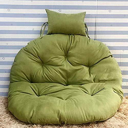 Swing Coussin Fauteuil Chaise de Rotin Swing Nid Rond Coussin de Siège Balançoire Diamètre105cm(41.3inch),Color8