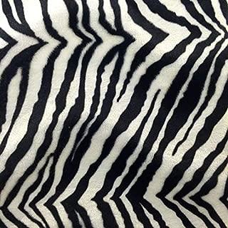 Best faux zebra fabric Reviews