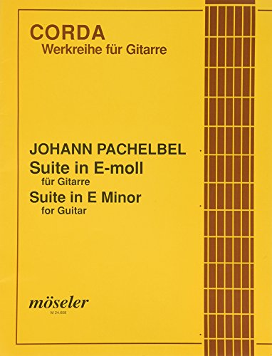 Suite e-Moll (orig. fis-Moll): Gitarre.