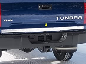 QAA fits 2014-2020 Toyota Tundra (1 Piece Stainless Tailgate Accent Trim, 2.5