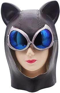 KTYX Halloween Horror Mask Sexy Cat Female Face Horn Horn Fox Mask Video Batman Headgear Cat Face Mask mask