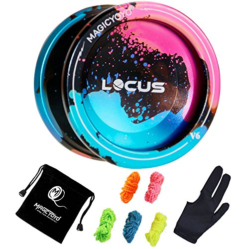 YOSTAR Responsive Yoyo for Kids MAGICYOYO V6 Locus Metal Yo Yo Ball for Beginner Kids Yoyo, + 5 Yoyo...