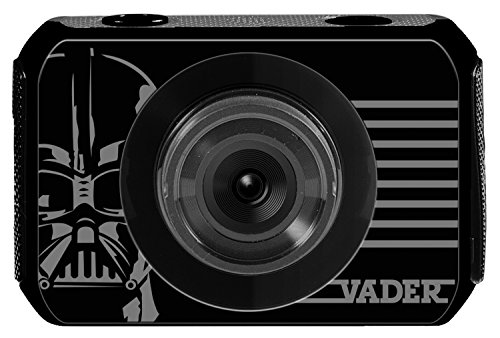 Lexibook DJA500SW Star Wars Rey Poe Finn BB-8 Move Cam, 2 h d'autonomie, Accessoires inclus: boitier étanche, fixation…