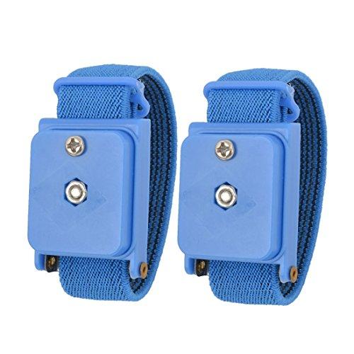 Blauw rekbare armband anti-statische draadloze polsband