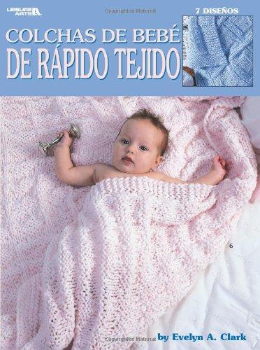Colchas de Bebe de Rapidos Tejido: 7 Disenos