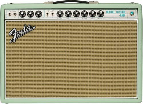 """Fender Limited Edition '68 Custom Deluxe Reverb 1x12"""" Tube Combo Guitar Amplifier"""